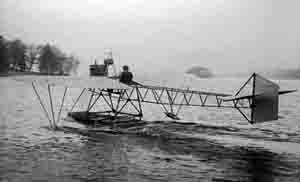 Early aircraft on Windermere 1912